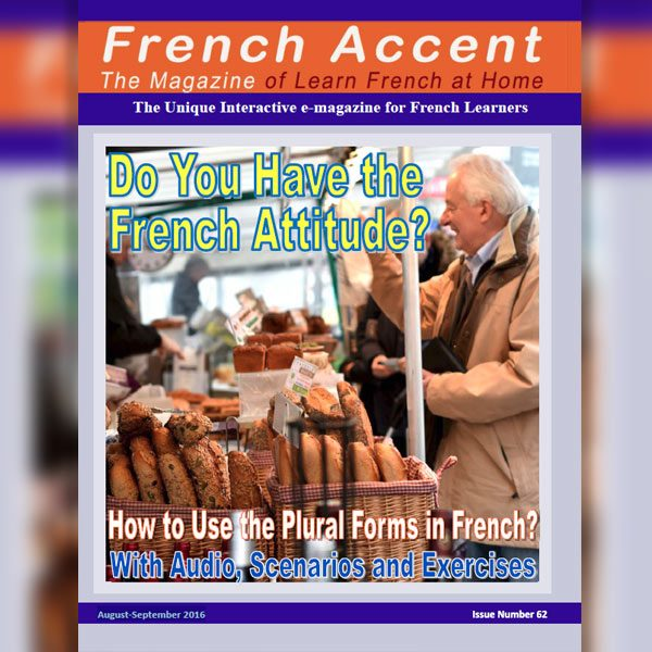 French Accent Magazine Subscription